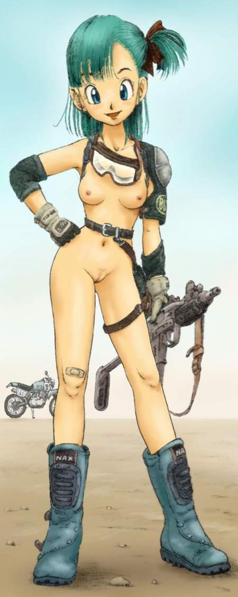 naked girls in dbz
